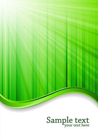 green background, clip-art Stock Photo - 7263598