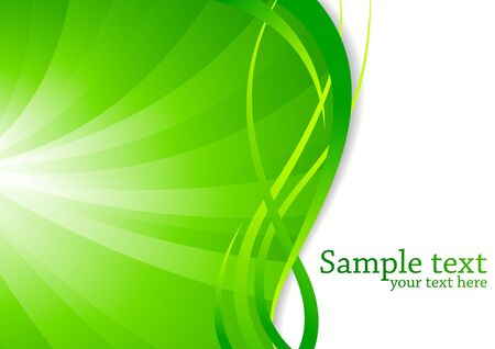 green background, clip-art Stock Photo - 7263585