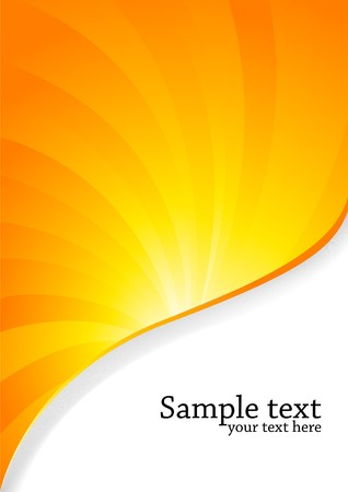 orange background, clip-art Фото со стока - 7410406