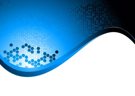 tech background, clip-art Vector