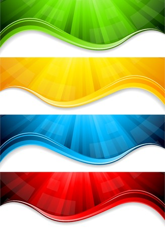 collection abstract banners photo