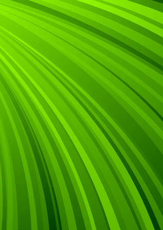 Abstract striped background in green color photo