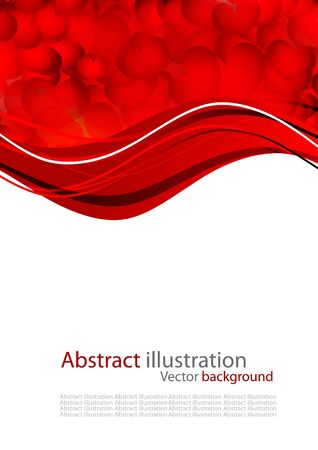 pretty s shiny: Abstract background with red heart