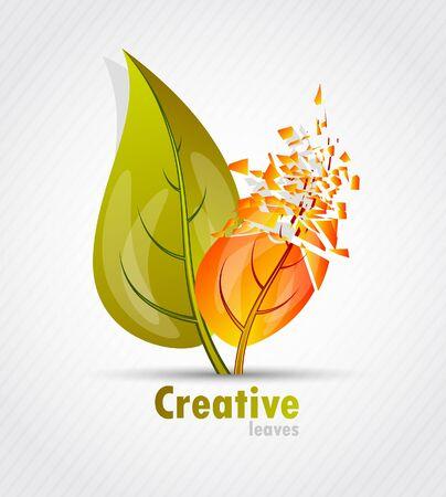 Leaves design Stock Vector - 10502906