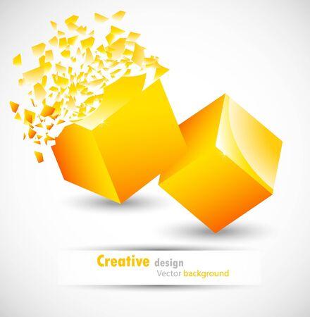 debris: Cube design