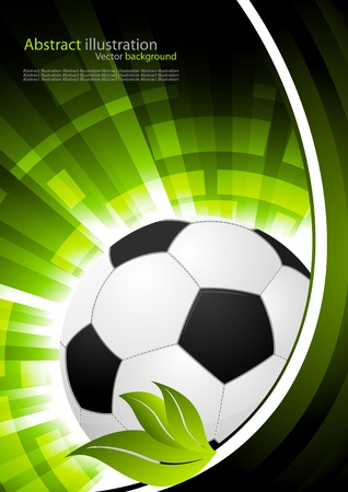grass line: Soccer background Stock Photo