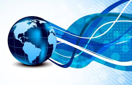 meridiano: Resumen de antecedentes brillantes con globo