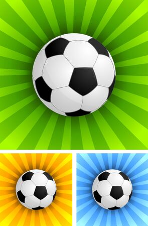 soccer balls: Background with soccer ball
