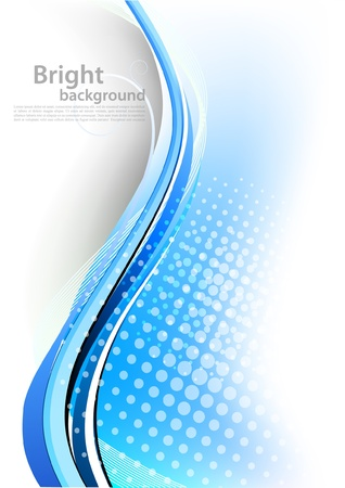 girds: Abstract blue background Illustration