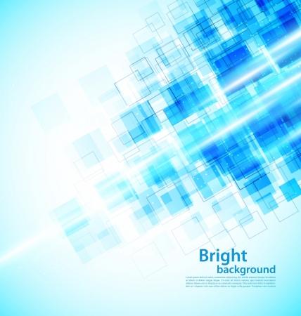 digital art: Background with squares Illustration