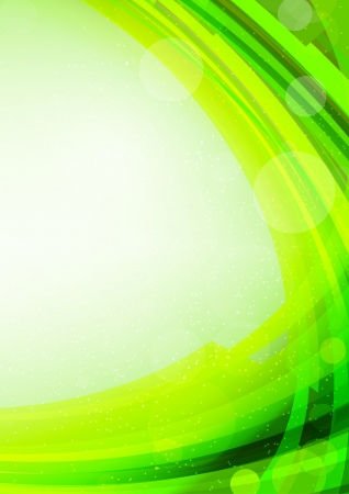 Abstract bright green background. Shiny colorful illustration Vector