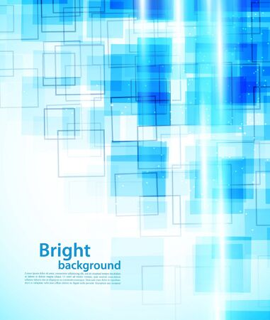 company vision: Background with squares Illustration