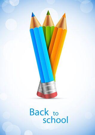 backgorund: Backgorund with pencils