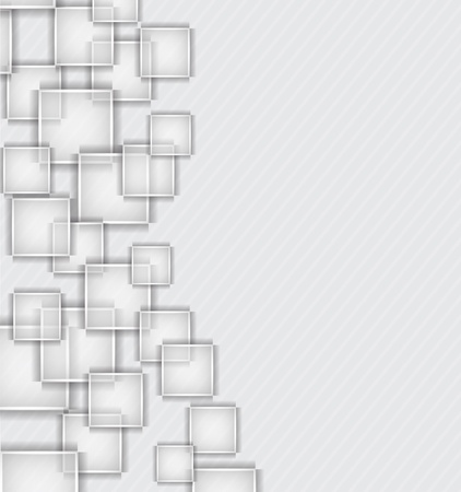square pattern: Background with squares Illustration