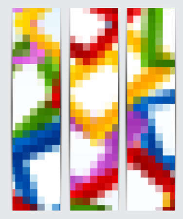 Set of abstract banners Stock Vector - 14993851