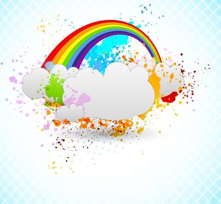Rainbow design Stock Vector - 15047547
