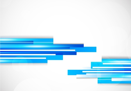 straight lines: Background with blue lines. Abstract colorful illustration Illustration