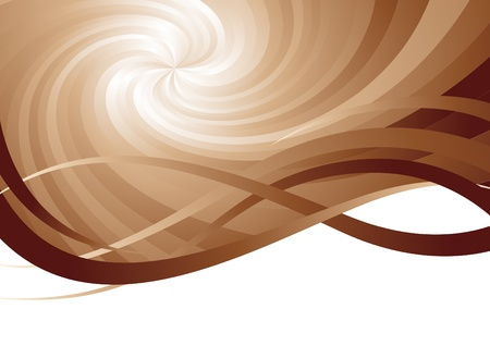 brown background, clip-art Vector