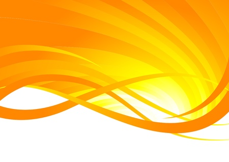 abstract orange background, clip-art Vector