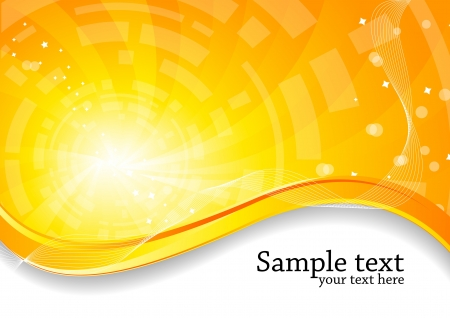 Vector abstract bright background; clip-art Vector