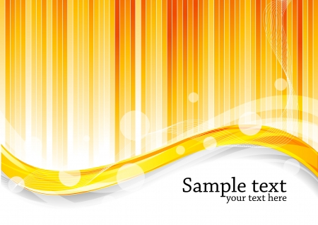 Vector orange background; clip-art Vector