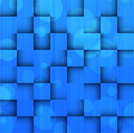 Bright background with blue squares. Abstract illustration Stock Vector - 15472751