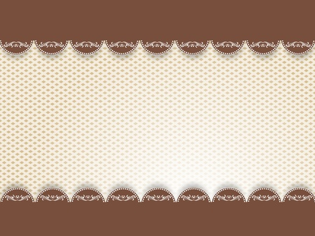chocolate swirl: Vintage background with decorative element. Abstract illustration