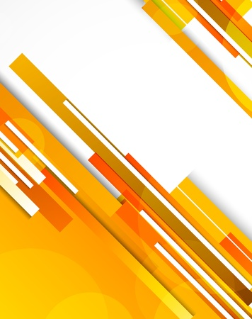 orange pattern: Background with orange lines  Abstract illustration
