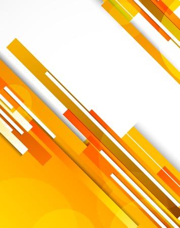 lineas rectas: Fondo con la ilustración abstracta de líneas naranja Vectores