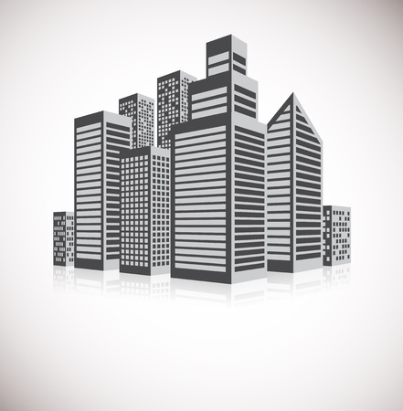 Cityscape background Abstract business illustration