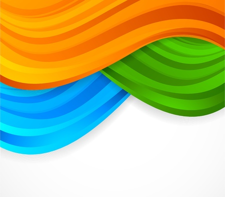bright colors: Background with lines. Abstract illustration