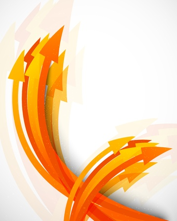 abstract wave: Abstract background with arrows  Bright illustration