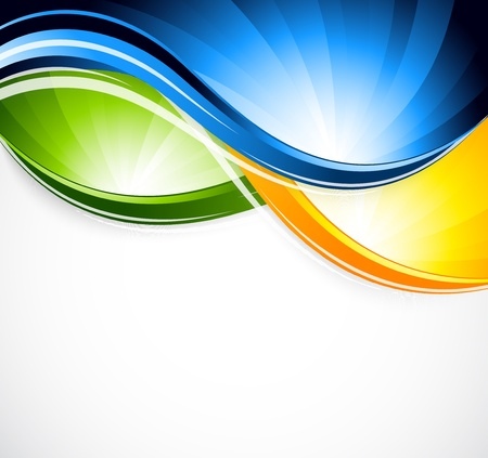 swirl composition: Abstract colorful background  Bright illustration Illustration