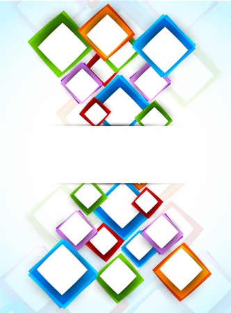 Bright colorful background  Abstract illustration Stock Vector - 17661865