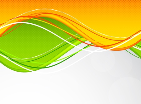orange texture: Abstract background in green and orange colors