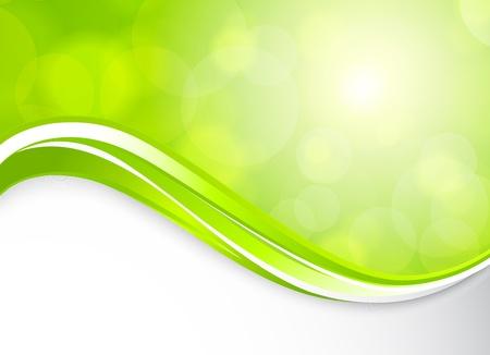 녹색 동그라미 추상 그림 봄 배경