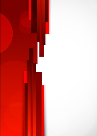 red line: Abstract red background with lines  Bright illustration