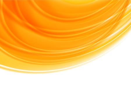 sunrise: Bright orange background  Abstract illustration