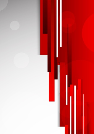 red background: Abstract red background  Bright illustration Illustration