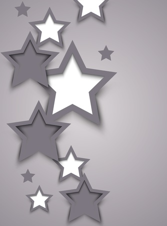 Background with stars  Abstract illustration Vector