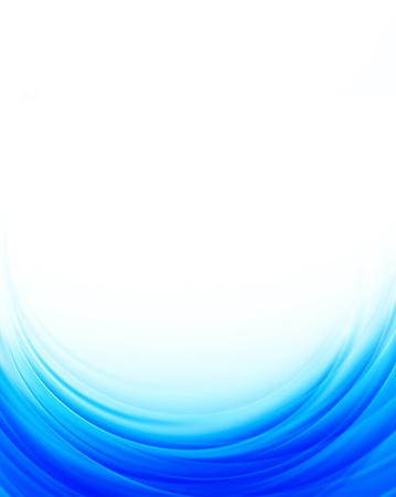 Abstract blue background  Bright illustration Stock Vector - 18840578