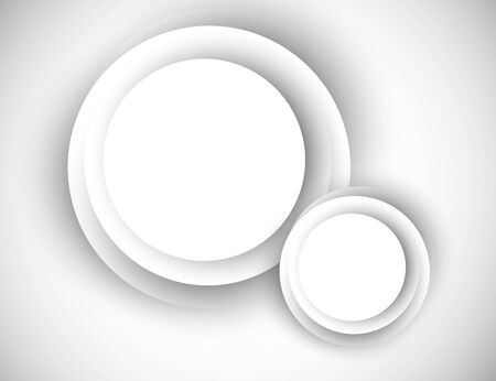 Abstract background with gray circles Vector
