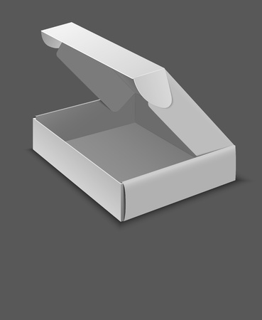 Box for computer hardware Vector