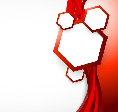 illustraiton: Abstract red background  Bright illustraiton