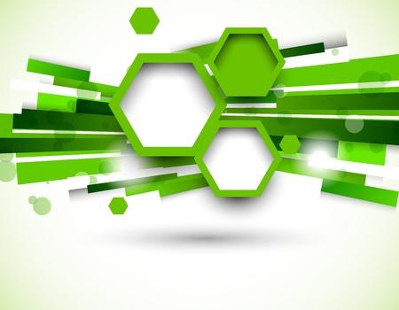 緑の色の抽象的な背景  イラスト・ベクター素材