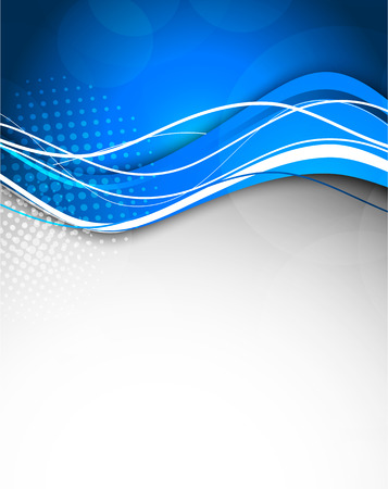 Abstract blue background. Bright illustration