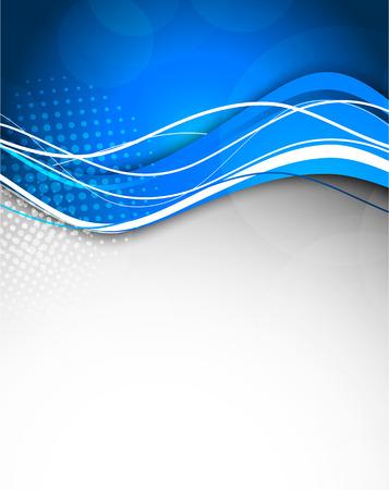 Fondo azul abstracto. Ilustraci?n brillante Foto de archivo - 22191910