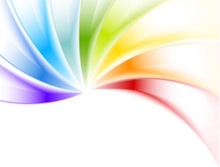 Abstracte kleurrijke achtergrond. Heldere illustratie Stock Illustratie