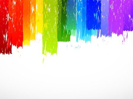 grunge brush: Colorful background. Bright illustration Illustration