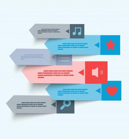 Design template. Music set Vector